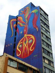 Mural guache